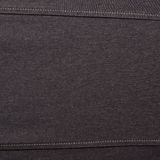 Black jeans cloth material fragment Royalty Free Stock Image