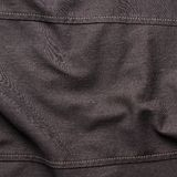 Black jeans cloth material fragment Stock Photography