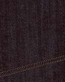 Black jeans denim background Royalty Free Stock Photo