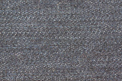 Black jeans of fabric texture. Royalty Free Stock Photography