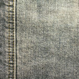 Black jeans fabric texture Stock Photo