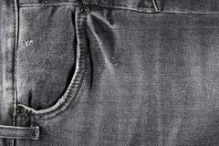 Black jeans pocket Royalty Free Stock Photography