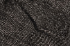 Black Jeans Texture Stock Image