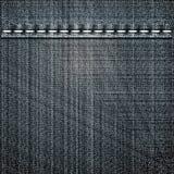 Black jeans texture Stock Photo