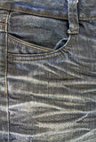 Black jeans texture Stock Photography