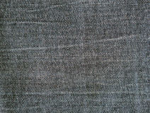 Black jeans texture and background.  Royalty Free Stock Images