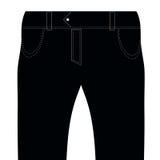 Black Jeans Royalty Free Stock Photo
