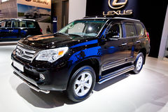 Black jeep car Lexus GX 460 Royalty Free Stock Photo