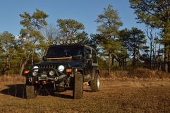 black jeep Stock Images