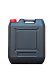 Black jerrycan Stock Photo