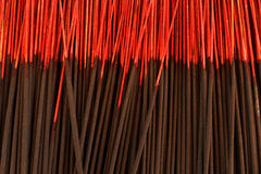 Black Joss stick Stock Image