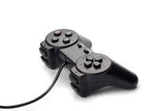 Black joystick Stock Photography