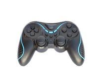 Black joystick isolated on white background Royalty Free Stock Images