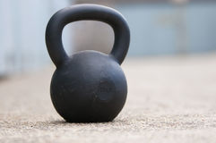 Black Kettlebell Stock Photography