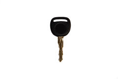 Black key isolated on a white background Stock Image