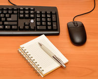 Black Keyboard Royalty Free Stock Photos