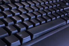 Black keyboard stock photo