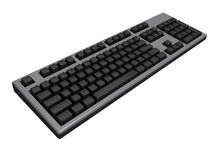Black keyboard Royalty Free Stock Photography