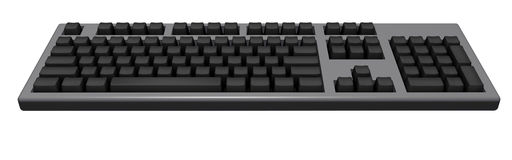 Black keyboard Royalty Free Stock Photo