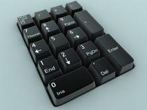 Black keyboard Royalty Free Stock Images