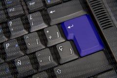 Black keyboard Stock Image