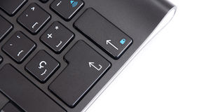 Black keyboard for the computer. Stock Image