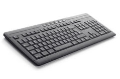 Black Keyboard Contact Us Stock Images