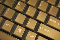 Black keyboard Stock Images