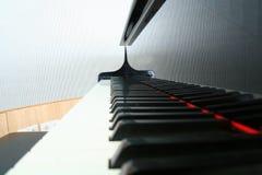 Black Keys Reflection Stock Photography