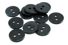 black knappar Arkivbild