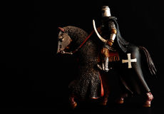 Black knight Royalty Free Stock Photography