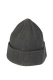Black Knitted Cap Stock Image