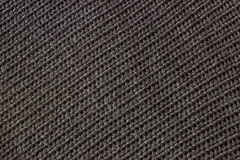 Black knitted fabric. Seamless texture. Royalty Free Stock Photo
