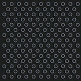 Black knob surface Royalty Free Stock Image