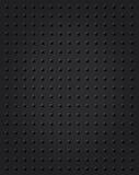 Black knobs industrial background. Spherical ball knobs pattern on matte black background royalty free illustration