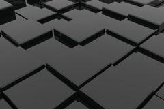 black kuber Royaltyfri Bild
