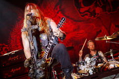 Black Label Society at Masters of Rock 2015 Royalty Free Stock Photography