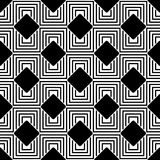 Black_Labyrinth_Pattern 库存照片