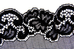 Black lace Stock Images