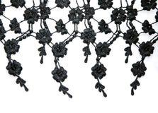 Black lace Stock Photos