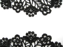 Black lace Royalty Free Stock Image
