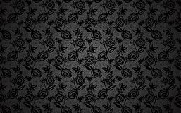 Black lace background Stock Photos