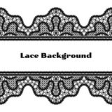 Black lace background Royalty Free Stock Images