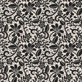 Black lace background Royalty Free Stock Photo