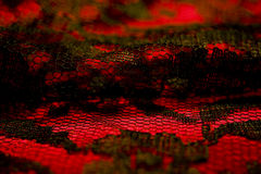 Black lace Stock Images