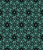 Black lace pattern Royalty Free Stock Image