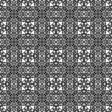 Black lace pattern Stock Photos