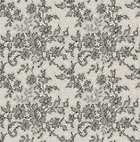 Black lace Seamless Pattern. Stock Photos