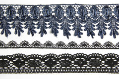 Black lacework Royalty Free Stock Photography