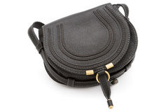 Black ladies handbag Royalty Free Stock Photo